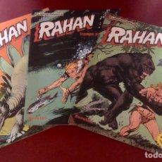 Cómics: RAHAN 1,2 Y 3.. Lote 200381315