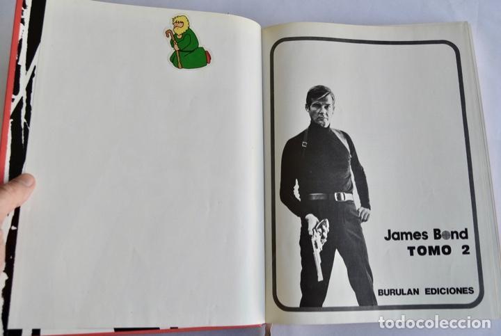 Cómics: James Bond. Tomo II. Ediciones Burulan. Ilustrador, Horak. Guión, Ian Fleming. San Sebastián, 1974 - Foto 3 - 201227563