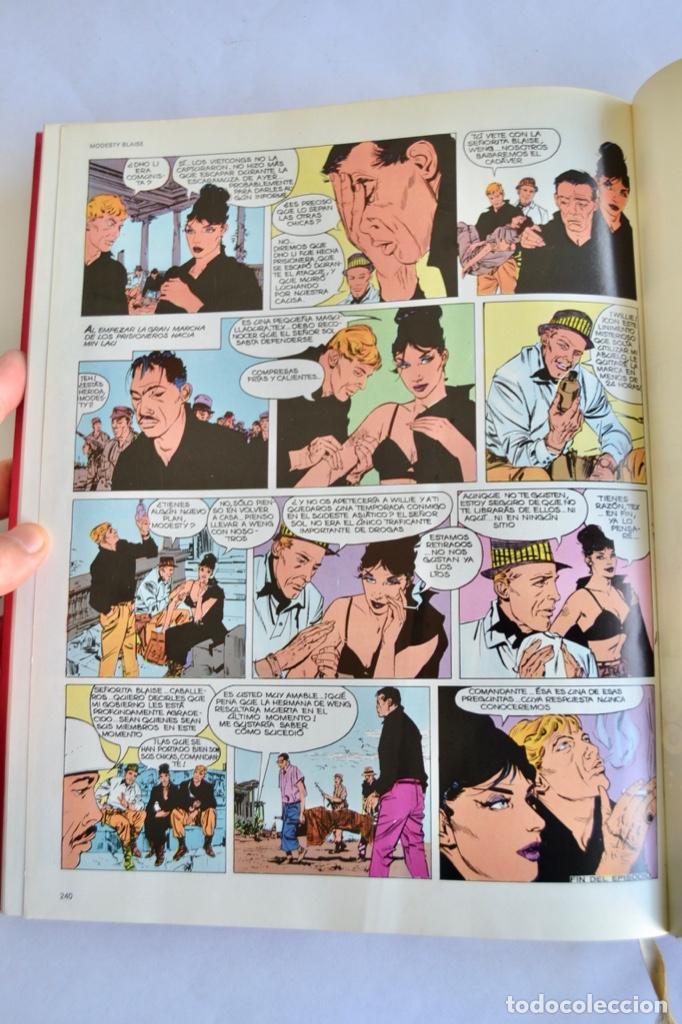 Cómics: Modesty Blaise. Tomo I. Ediciones Burulan. Ilustrador, Jim Holdaway. Guión, Peter O´ Donnell. 1974 - Foto 11 - 201229010