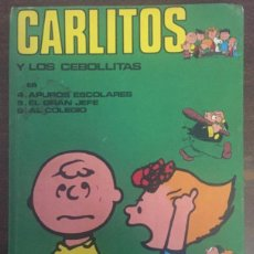 Cómics: J- LIBRO CARLITOS Y LOS CEBOLLITAS TOMO II BURU LAN COMICS 1971 62 PAG. Lote 201545991