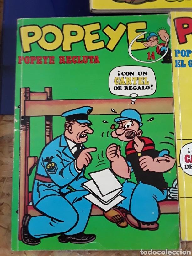 Cómics: 5 comics de POPEYE N°1,2,14,15 Y 17 - Foto 4 - 201736778