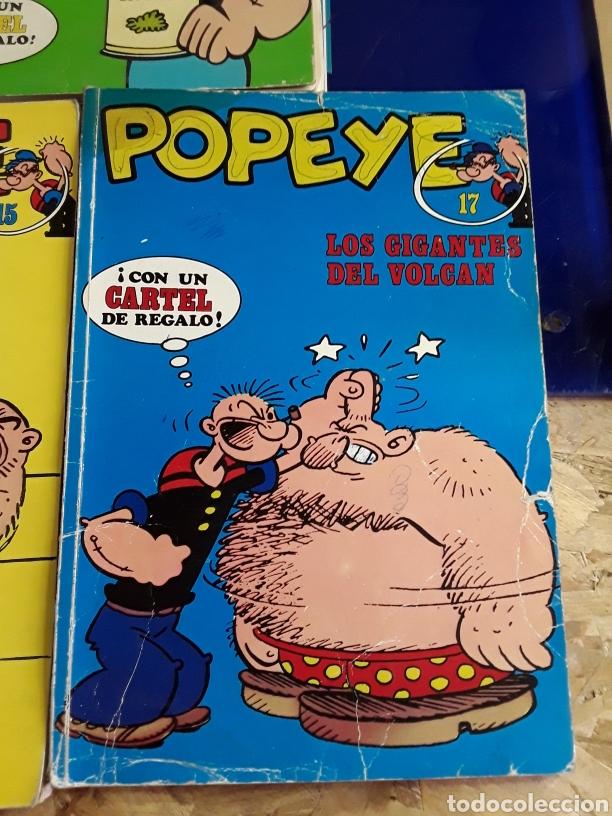 Cómics: 5 comics de POPEYE N°1,2,14,15 Y 17 - Foto 6 - 201736778