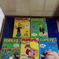 Cómics: 5 COMICS DE POPEYE N°1,2,14,15 Y 17. Lote 201736778