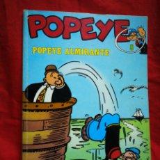 Cómics: POPEYE-POPEYE ALMIRANTE, (BIBLIOTECA BURU LAN) N°8.1971.. Lote 202990185