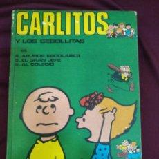 Cómics: CARLITOS Y LOS CEBOLLITA, TOMO 2, BURU-LAN, CONTIENE LOS NÚMEROS 4,5,6. Lote 203035131