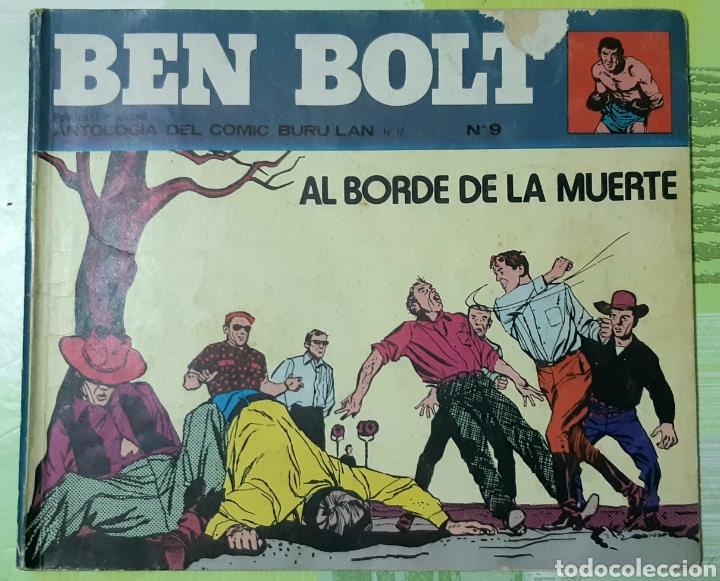 TEBEOS-COMICS CANDY - BEN BOLT 9 - BURULAN - AA98 (Tebeos y Comics - Buru-Lan - Otros)