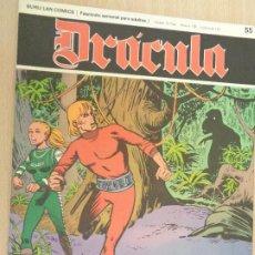 Cómics: BURU LAN COMICS. HEROES DEL COMIC. DRACULA Nº 55. Lote 203387161