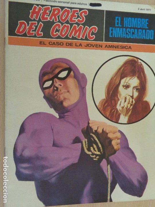 BURU LAN COMICS. HEROES DEL COMIC. HOMBRE ENMASCARADO Nº 10 (Tebeos y Comics - Buru-Lan - Hombre Enmascarado)