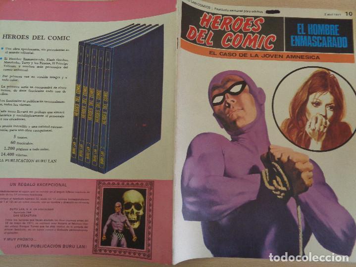 Cómics: Buru Lan Comics. Heroes del Comic. Hombre Enmascarado Nº 10 - Foto 2 - 203387692
