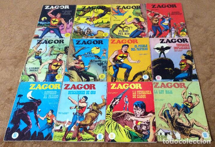 Cómics: ZAGOR COMPLETA (TODAS LAS AVENTURAS PUBLICADAS EN ESPAÑA) - Foto 5 - 203433705