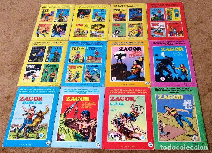 Cómics: ZAGOR COMPLETA (TODAS LAS AVENTURAS PUBLICADAS EN ESPAÑA) - Foto 6 - 203433705