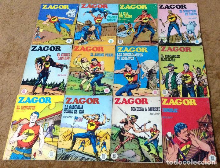 Cómics: ZAGOR COMPLETA (TODAS LAS AVENTURAS PUBLICADAS EN ESPAÑA) - Foto 7 - 203433705