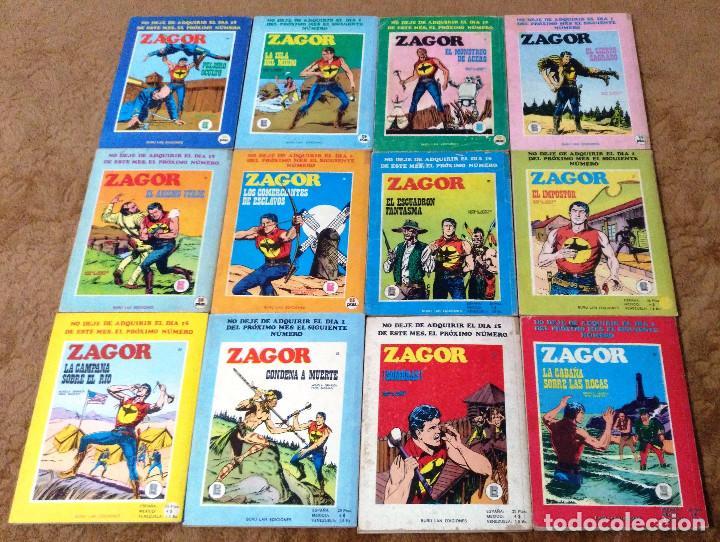 Cómics: ZAGOR COMPLETA (TODAS LAS AVENTURAS PUBLICADAS EN ESPAÑA) - Foto 8 - 203433705