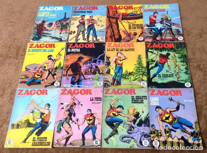 Cómics: ZAGOR COMPLETA (TODAS LAS AVENTURAS PUBLICADAS EN ESPAÑA) - Foto 9 - 203433705