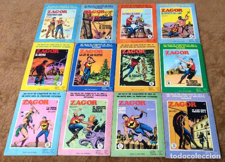 Cómics: ZAGOR COMPLETA (TODAS LAS AVENTURAS PUBLICADAS EN ESPAÑA) - Foto 10 - 203433705