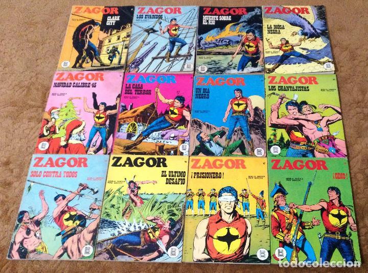 Cómics: ZAGOR COMPLETA (TODAS LAS AVENTURAS PUBLICADAS EN ESPAÑA) - Foto 11 - 203433705