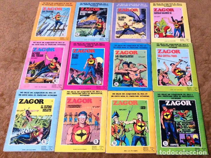 Cómics: ZAGOR COMPLETA (TODAS LAS AVENTURAS PUBLICADAS EN ESPAÑA) - Foto 12 - 203433705