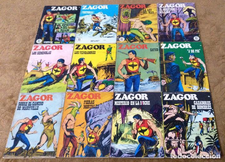 Cómics: ZAGOR COMPLETA (TODAS LAS AVENTURAS PUBLICADAS EN ESPAÑA) - Foto 13 - 203433705