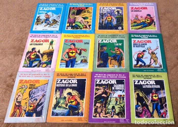 Cómics: ZAGOR COMPLETA (TODAS LAS AVENTURAS PUBLICADAS EN ESPAÑA) - Foto 14 - 203433705