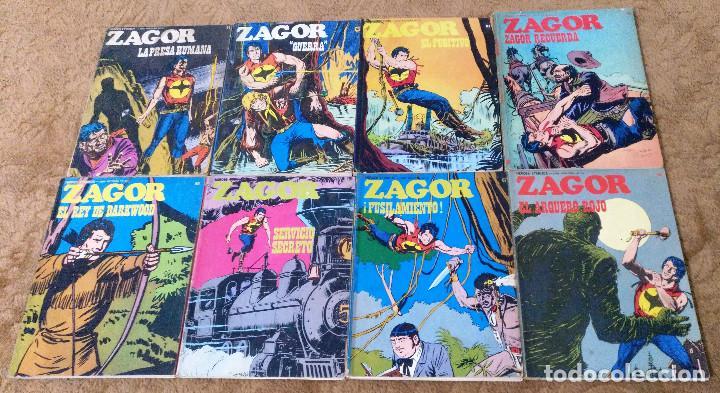Cómics: ZAGOR COMPLETA (TODAS LAS AVENTURAS PUBLICADAS EN ESPAÑA) - Foto 15 - 203433705