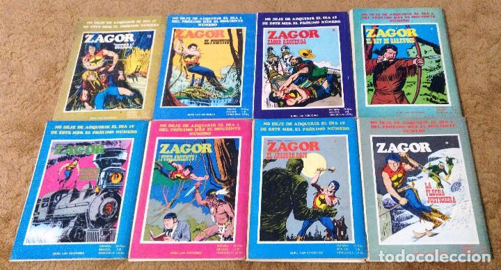 Cómics: ZAGOR COMPLETA (TODAS LAS AVENTURAS PUBLICADAS EN ESPAÑA) - Foto 16 - 203433705