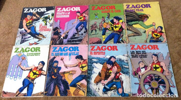 Cómics: ZAGOR COMPLETA (TODAS LAS AVENTURAS PUBLICADAS EN ESPAÑA) - Foto 17 - 203433705