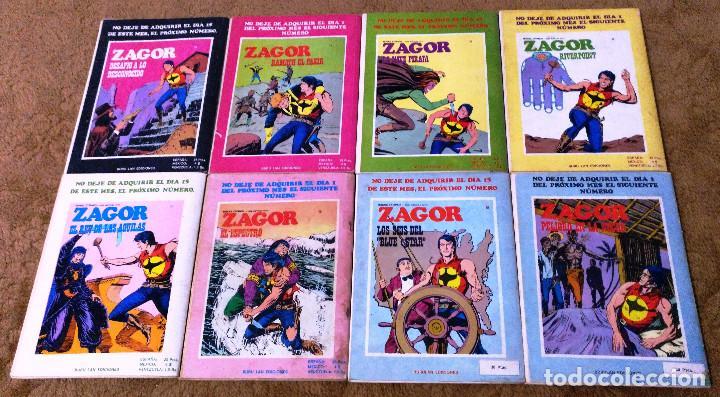 Cómics: ZAGOR COMPLETA (TODAS LAS AVENTURAS PUBLICADAS EN ESPAÑA) - Foto 18 - 203433705
