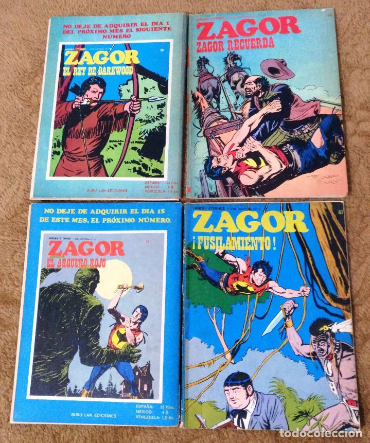 Cómics: ZAGOR COMPLETA (TODAS LAS AVENTURAS PUBLICADAS EN ESPAÑA) - Foto 19 - 203433705