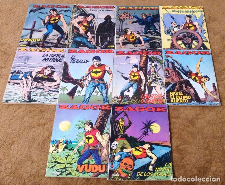 Cómics: ZAGOR COMPLETA (TODAS LAS AVENTURAS PUBLICADAS EN ESPAÑA) - Foto 21 - 203433705