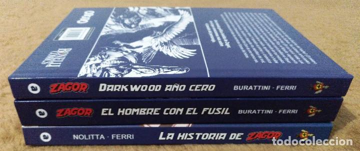 Cómics: ZAGOR COMPLETA (TODAS LAS AVENTURAS PUBLICADAS EN ESPAÑA) - Foto 25 - 203433705