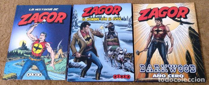 Cómics: ZAGOR COMPLETA (TODAS LAS AVENTURAS PUBLICADAS EN ESPAÑA) - Foto 26 - 203433705