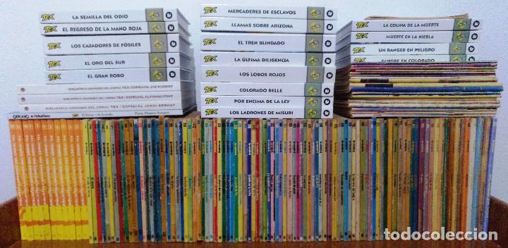 TEX WILLER COMPLETA (TODAS LAS AVENTURAS PUBLICADAS EN ESPAÑA) (Tebeos y Comics - Buru-Lan - Tex)