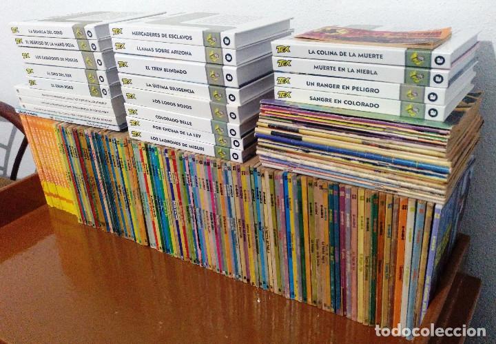 Cómics: TEX WILLER COMPLETA (TODAS LAS AVENTURAS PUBLICADAS EN ESPAÑA) - Foto 2 - 203438635