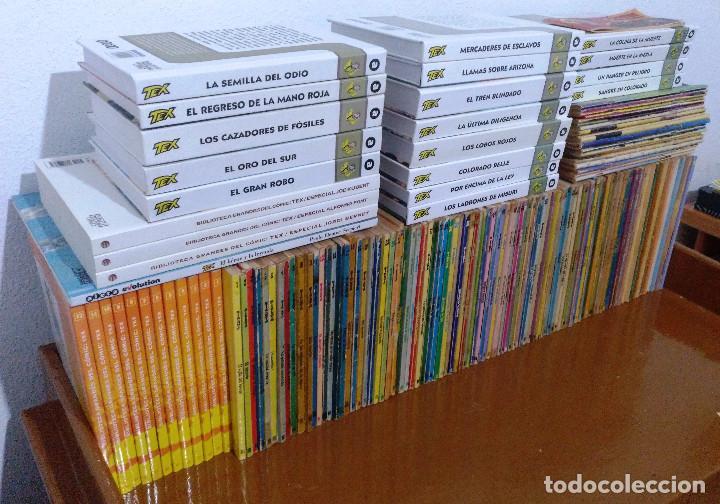 Cómics: TEX WILLER COMPLETA (TODAS LAS AVENTURAS PUBLICADAS EN ESPAÑA) - Foto 3 - 203438635