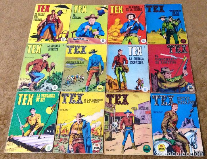 Cómics: TEX WILLER COMPLETA (TODAS LAS AVENTURAS PUBLICADAS EN ESPAÑA) - Foto 5 - 203438635