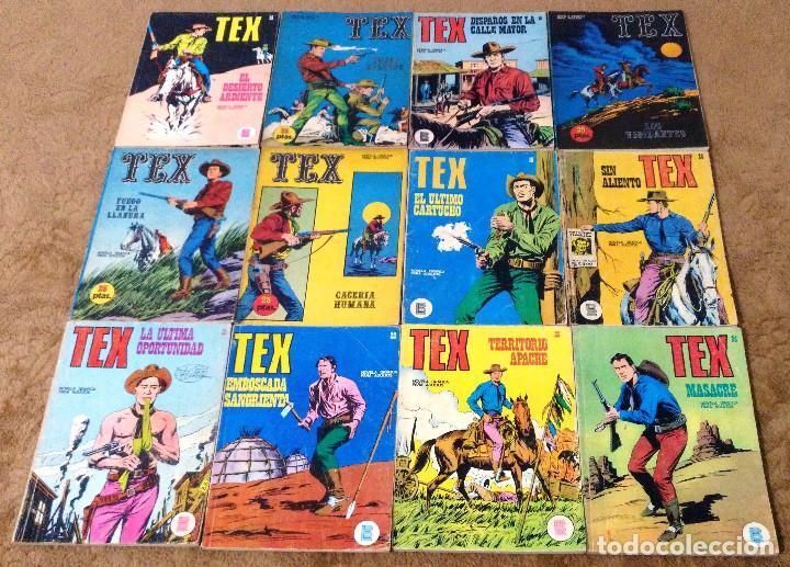 Cómics: TEX WILLER COMPLETA (TODAS LAS AVENTURAS PUBLICADAS EN ESPAÑA) - Foto 7 - 203438635