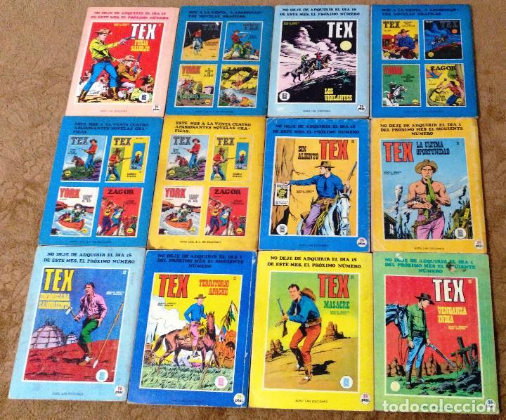 Cómics: TEX WILLER COMPLETA (TODAS LAS AVENTURAS PUBLICADAS EN ESPAÑA) - Foto 8 - 203438635