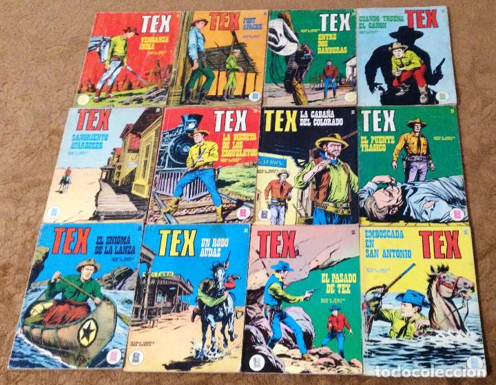Cómics: TEX WILLER COMPLETA (TODAS LAS AVENTURAS PUBLICADAS EN ESPAÑA) - Foto 9 - 203438635