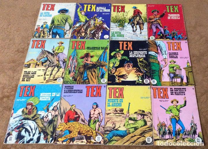 Cómics: TEX WILLER COMPLETA (TODAS LAS AVENTURAS PUBLICADAS EN ESPAÑA) - Foto 11 - 203438635
