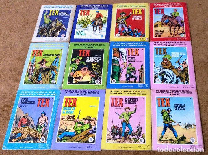 Cómics: TEX WILLER COMPLETA (TODAS LAS AVENTURAS PUBLICADAS EN ESPAÑA) - Foto 12 - 203438635