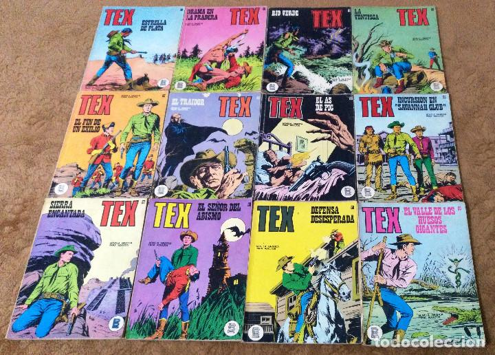 Cómics: TEX WILLER COMPLETA (TODAS LAS AVENTURAS PUBLICADAS EN ESPAÑA) - Foto 13 - 203438635