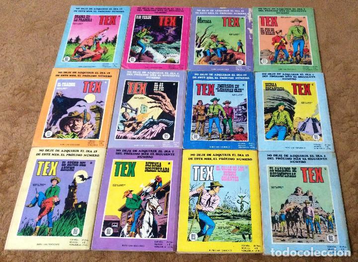 Cómics: TEX WILLER COMPLETA (TODAS LAS AVENTURAS PUBLICADAS EN ESPAÑA) - Foto 14 - 203438635