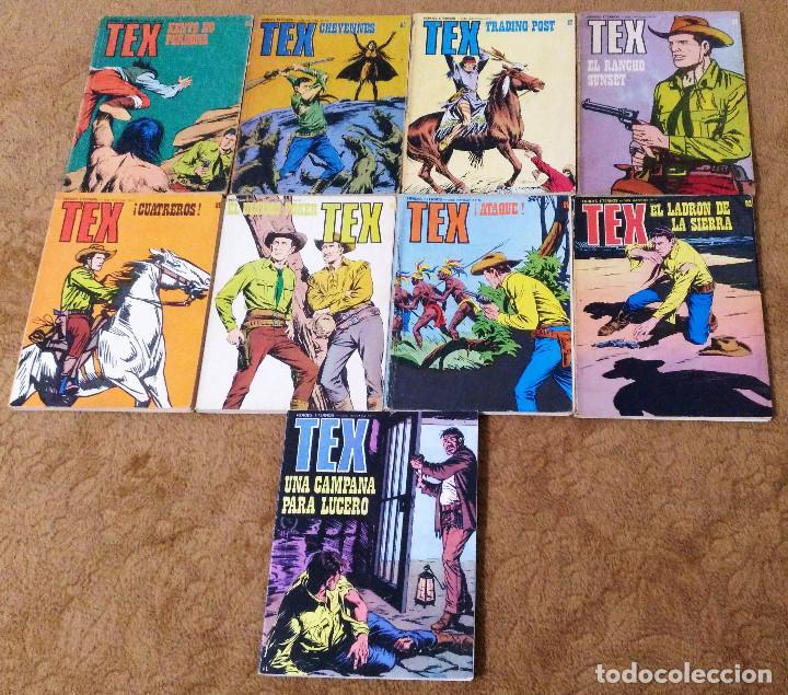 Cómics: TEX WILLER COMPLETA (TODAS LAS AVENTURAS PUBLICADAS EN ESPAÑA) - Foto 19 - 203438635