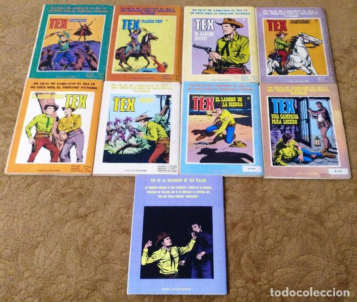 Cómics: TEX WILLER COMPLETA (TODAS LAS AVENTURAS PUBLICADAS EN ESPAÑA) - Foto 20 - 203438635