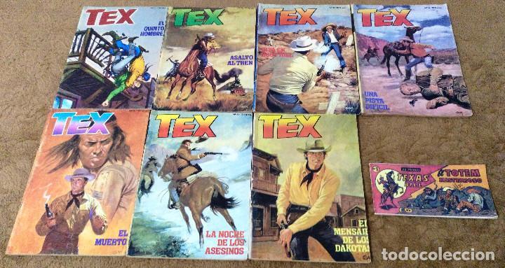 Cómics: TEX WILLER COMPLETA (TODAS LAS AVENTURAS PUBLICADAS EN ESPAÑA) - Foto 22 - 203438635