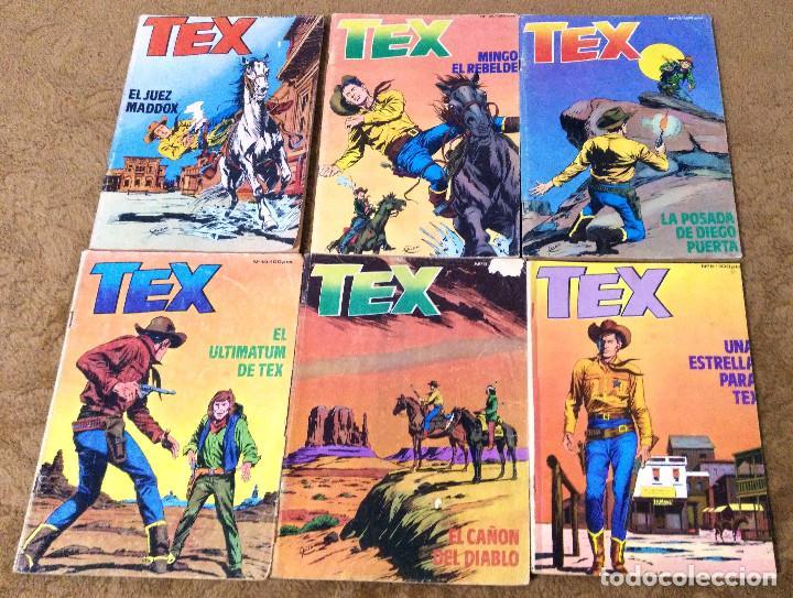 Cómics: TEX WILLER COMPLETA (TODAS LAS AVENTURAS PUBLICADAS EN ESPAÑA) - Foto 23 - 203438635