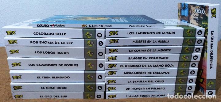 Cómics: TEX WILLER COMPLETA (TODAS LAS AVENTURAS PUBLICADAS EN ESPAÑA) - Foto 28 - 203438635