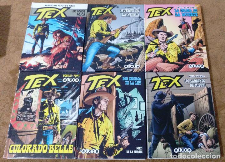 Cómics: TEX WILLER COMPLETA (TODAS LAS AVENTURAS PUBLICADAS EN ESPAÑA) - Foto 29 - 203438635