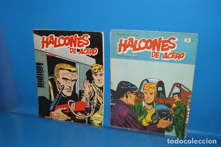 COMIC HALCONES DE ACERO, TOMO 1, FASCÍCULO 6 + HALCONES DE ACERO, 6 ALBUM 1 (Tebeos y Comics - Buru-Lan - Halcones de Acero)