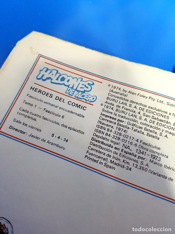 Cómics: Comic Halcones de Acero, Tomo 1, Fascículo 6 + Halcones de Acero, 6 Album 1 - Foto 7 - 203442886